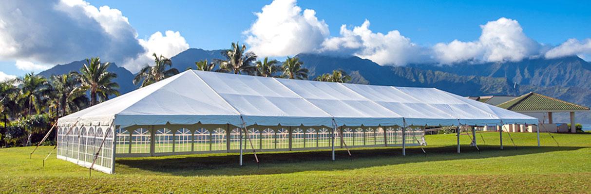 Kauai Tent Rentals Wedding Tent Rentals Kauai Tent